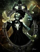 Wings in the dark by Adriana-Madrid