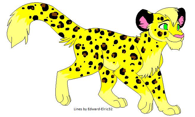 Leopard for Tadpole by bluewolfpups