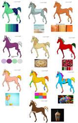 More Horses for Kandy girls