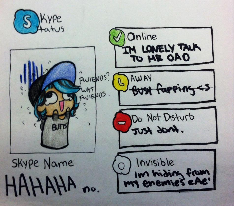 Skype meme by Sakuui on DeviantArt