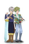 SS-Luca and Spada by Rereska