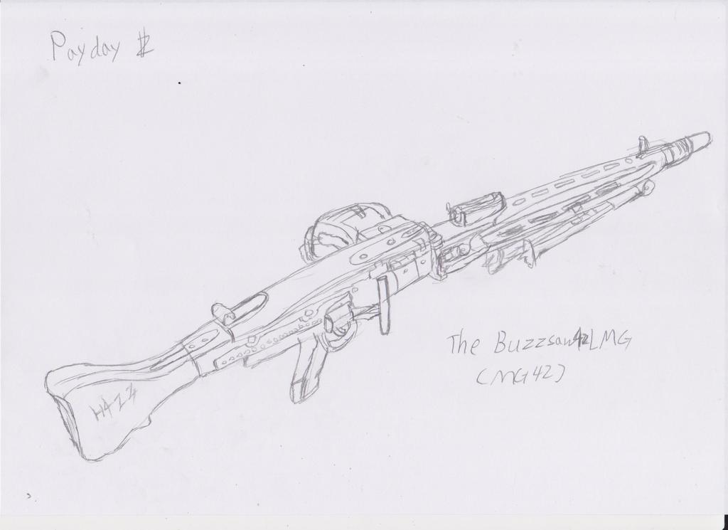 The-Blueprints.com - Blueprints > Weapons > Machine Guns > MG 42 ...