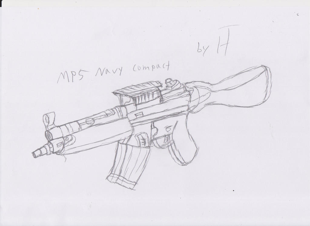 MP5 Navy compact by PanZhen3