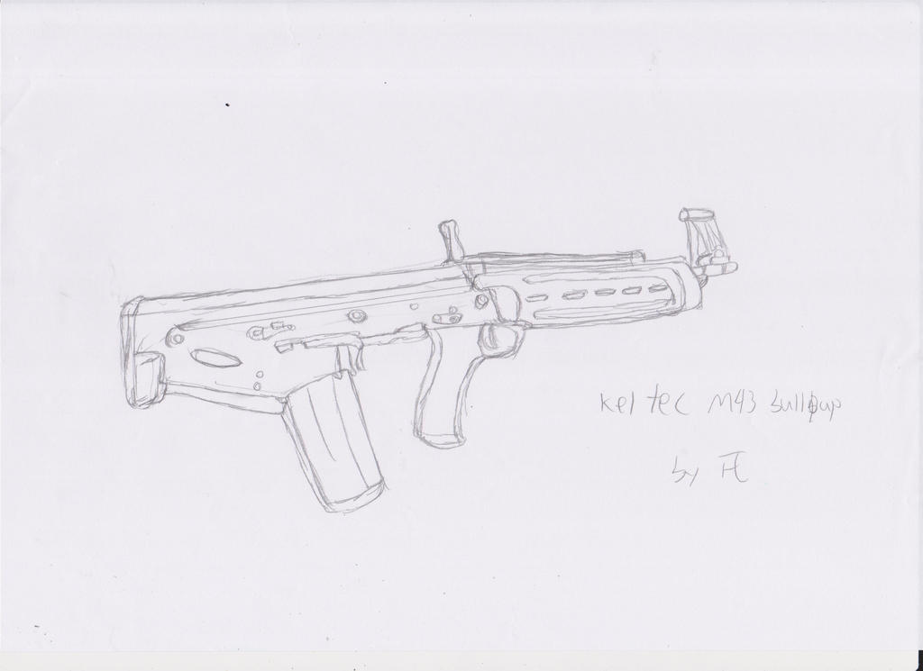kel tec m43 bullpup by panzhen3 on deviantart