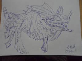 Subnautica - Sea Dragon Leviathan by PanZhen3
