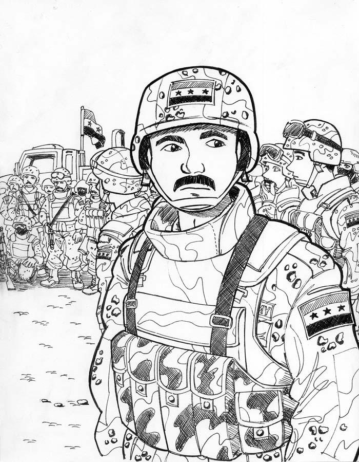 The Iraqi Soldiers by Avary-Freedom