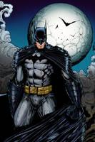 Dark Knight (color) by rhixart
