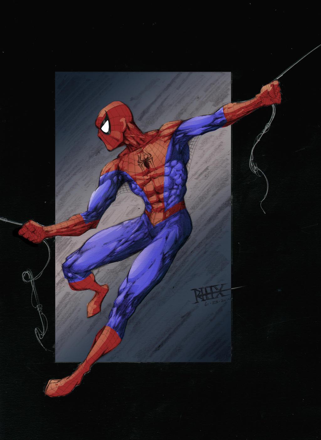 Classic Spider-Man by rhixart