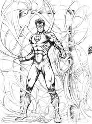 Green Lantern by rhixart