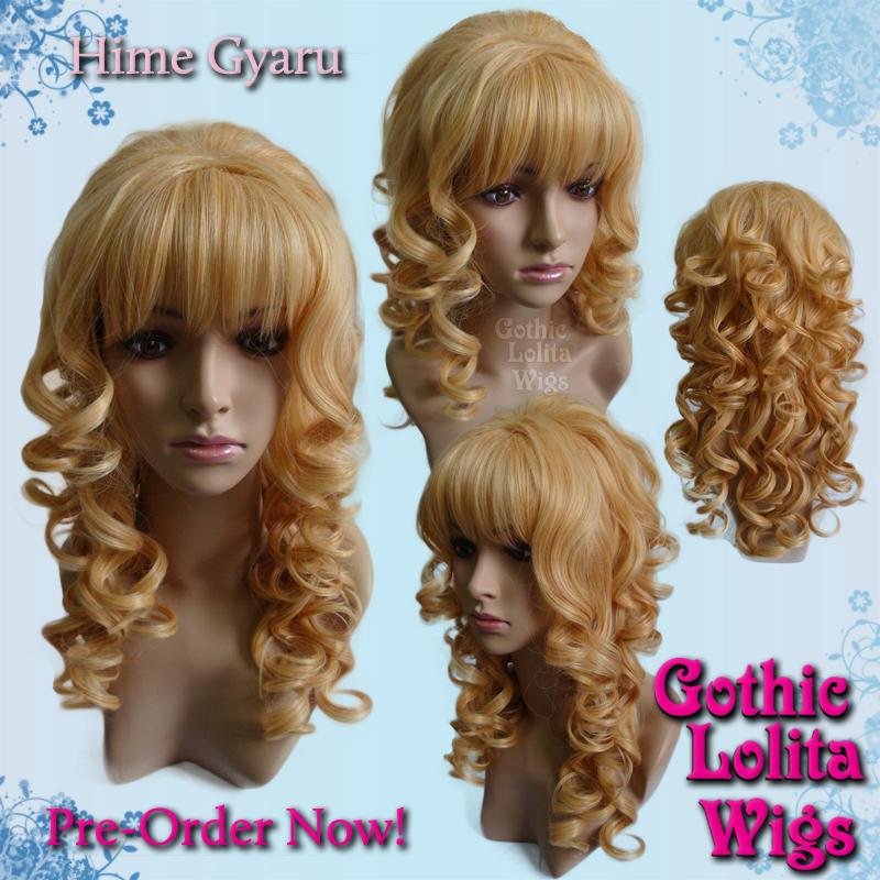 Hime Gyaru Golden Blonde Wig By Gothiclolitawigs On Deviantart