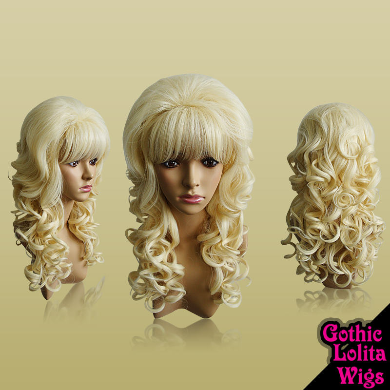 Light Blonde Hime Wig by GothicLolitaWigs