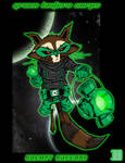 Rocket Raccoon Green Lantern