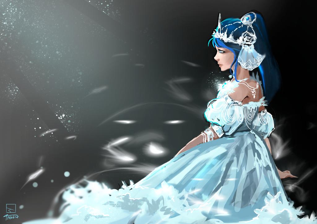 Sainthanna Final Fantasy by wiwinn