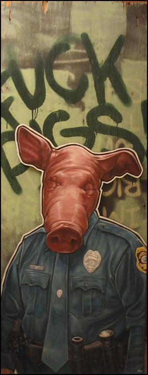 Law Enforcement Is A Joke by themrchristopher