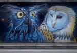 City birds of prey
