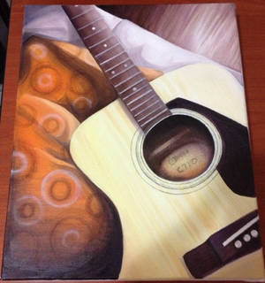 Acoustic Guitar on Canvas (Updated 03/03/15)