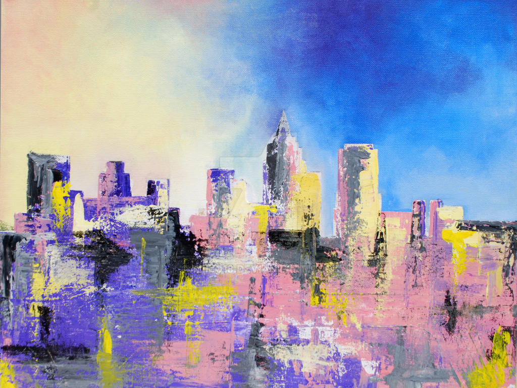 QueenCity Skyline - FOR SALE by Miilo18