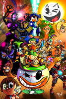 Smash Bros: New Warriors Aproaching . by miitoons