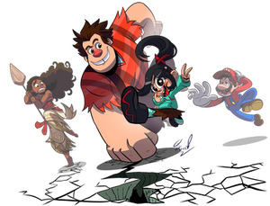 Ralph Wrecks DeviantART- Wreck it Ralph 2