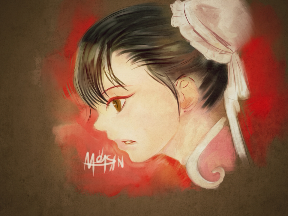 chunli player2 ipad paint by meisan