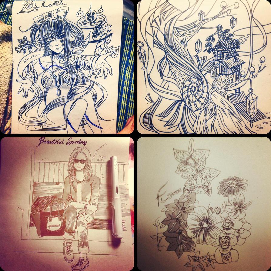 sketch batch 3 by meisan