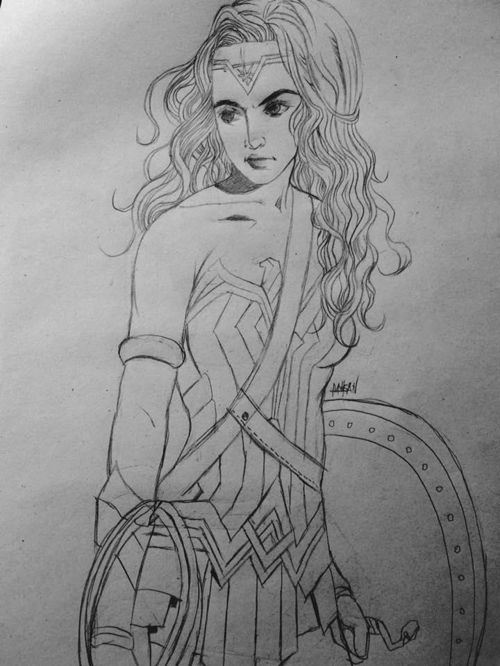 Wonder woman by meisan