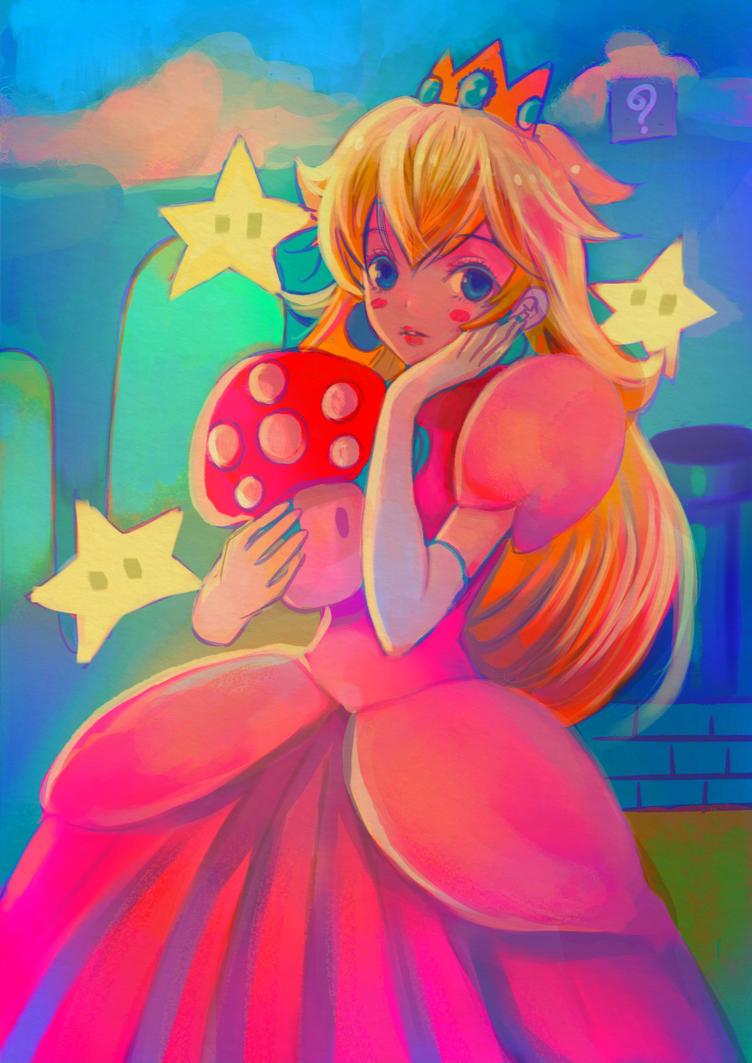 Peach.  by meisan