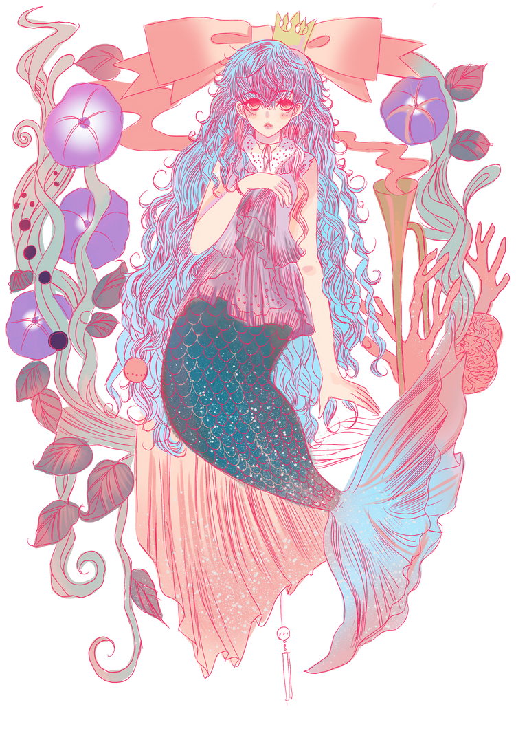 Macaron mermaid(open auction)