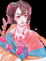 Hanfu girl