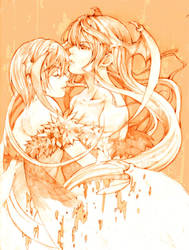 MORRIGAN and LILITH~THE CONJUGATE by meisan