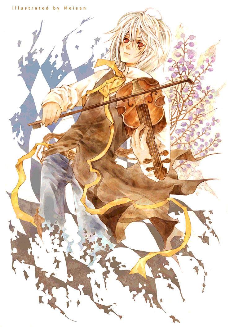 D.Gray-man Sonata Allegro by meisan