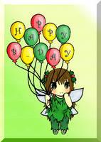 For SephycalA7X - Happy Birthday!! :D by MeriFren