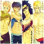 Boys of Fairy Tail