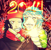 ::Happy new year 2014 ::.:..: by 191195