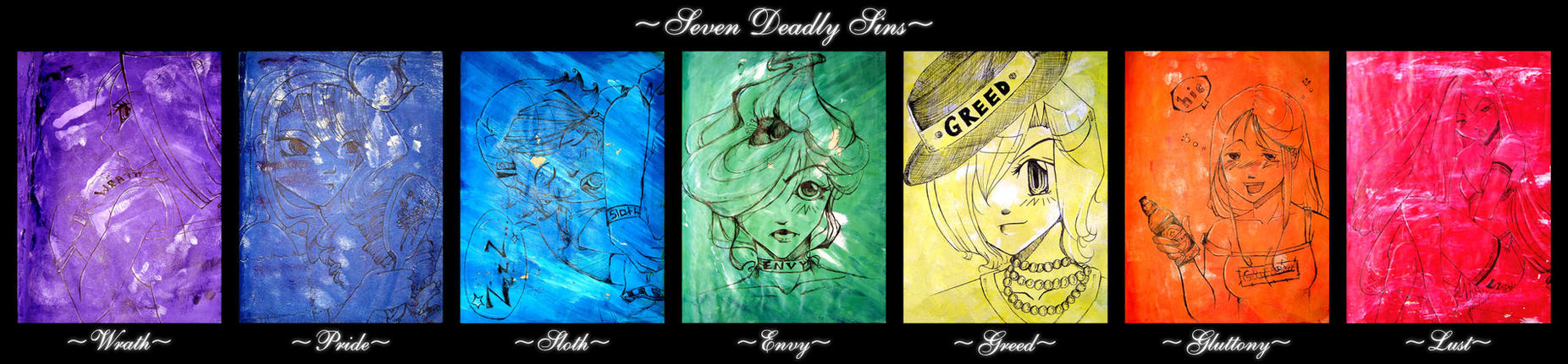 Deadly sins by kristina1234u