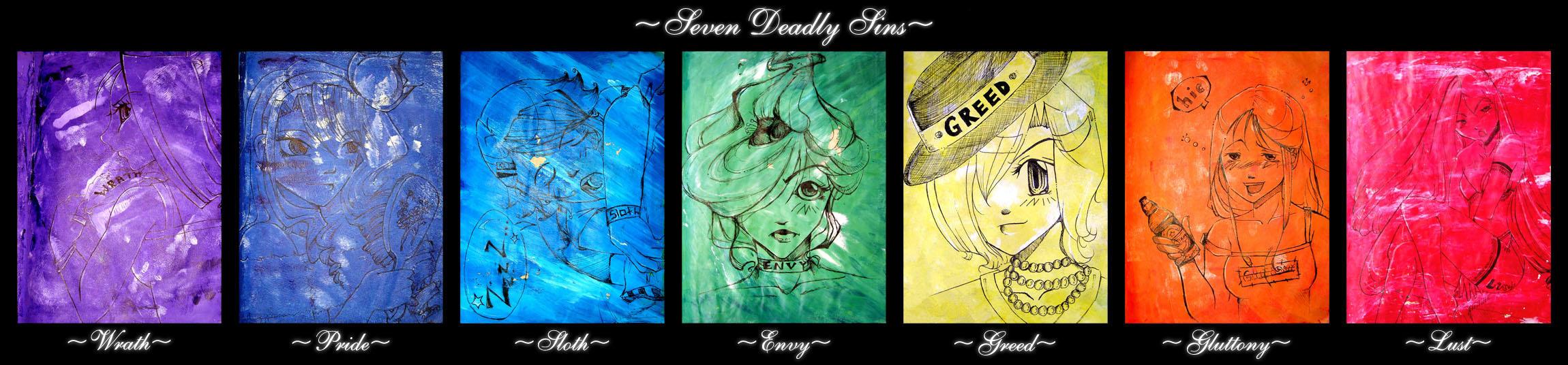 7 Deadly Sins by kristina1234u