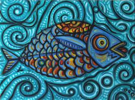 Sonic Fish by JohnPaulHunter