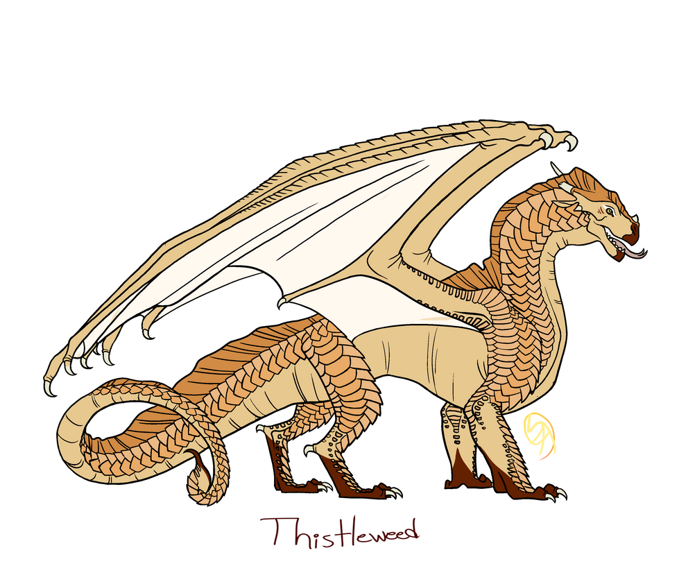 Thistleweed (reference) by spectralArtist
