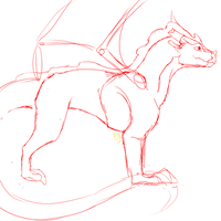 Thistleweed basic body sketch