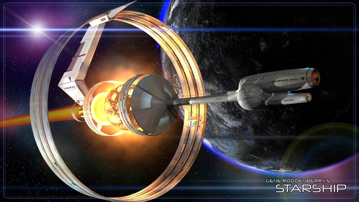 Starship by richmerk