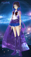 Galaxy Sailor Saturn by MagicalNelly