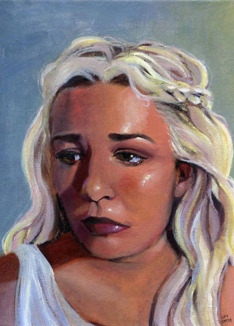 Pop Culture Portrait: Olivia by kyria