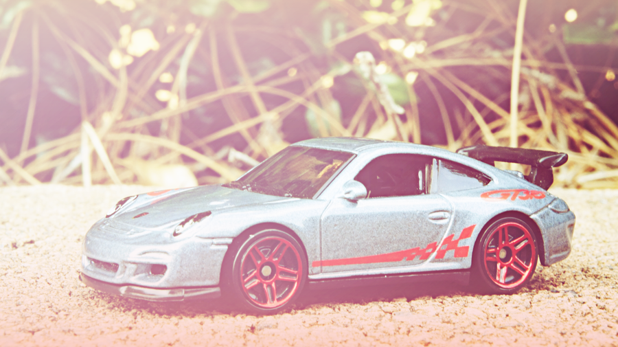 Porsche 911 GT3 RS  Front Pink Edit by atLevel1Alt