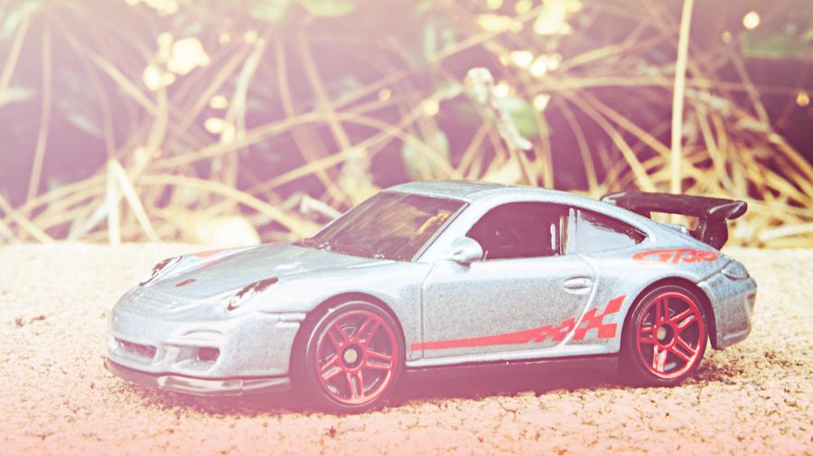 Porsche 911 GT3 RS  Front Pink Edit by atLevel1Alt