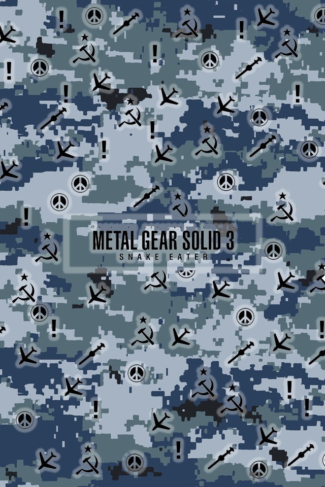 Metal Gear Solid 3 IPhone Camo One By AtLevel1Alt