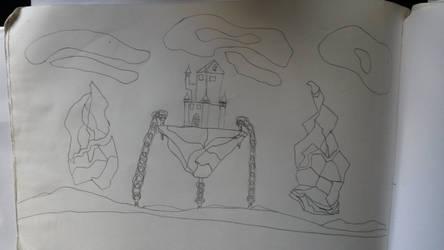 Floating castel. (castillo flotante)