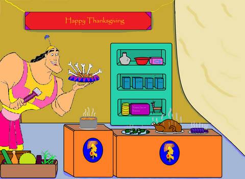 Kronk's Thanksgiving