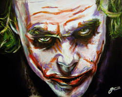 WHY SO SERIOUS? by gavcam