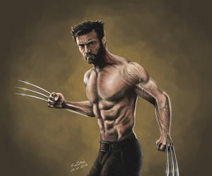 Wolverine 9 by Aryellyii