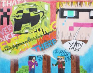Yogscast Fan art: That's a very NISSS EV... WHY ME by Troxist